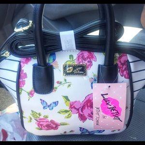 🎉NEW Betsey Johnson mini!! satchel!!!
